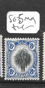 MALAYA KEDAH  (P1301B) LEAF 8C SG 5  MOG