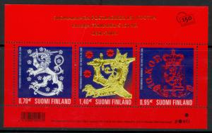 FINLAND 2006 POSTAGE STAMP ANNIVERSARY Souvenir Sheet Sc 1273 MNH