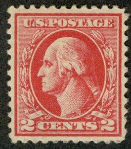 US #526 SCV $62.50 XF-SUPERB mint lightly hinged, Large margins,   A SELECT S...