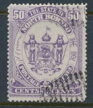 North Borneo  SG 82  Used   Violet   please see scans & details