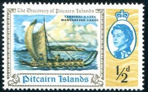 Pitcairn Islands Sc#67 MH (Pi)