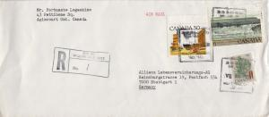 Canada 35c White Pine Floral, 50c Prairie Street Scene and $1.00 Fundy Nation...