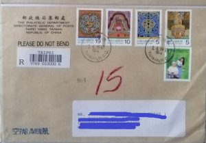 O) 1999 CHINA, CARE FOR THE AGED, ART, DECORATED, FROM TAIPEI, REGISTERED TO MEX