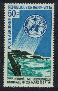 Upper Volta World Meteorological Day 1v 1967 MNH SG#210