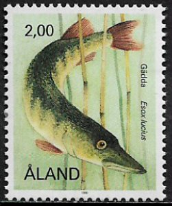 Finland - Aland Is #43 MNH Stamp - Fish