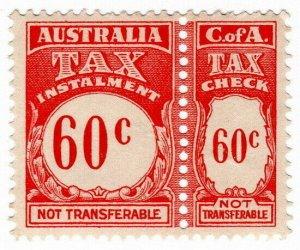(I.B) Australia Revenue : Tax Instalment 60c
