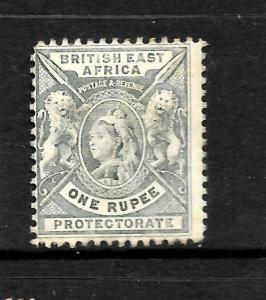 BRITISH EAST AFRICA   1896  1r   QV  MH   SG 75