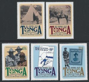 Tonga #504-8 NH Scouting Year