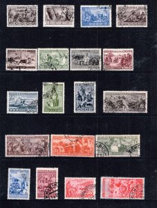 RUSSIA STAMP CCCP USED STAMP COLLECTION LOT