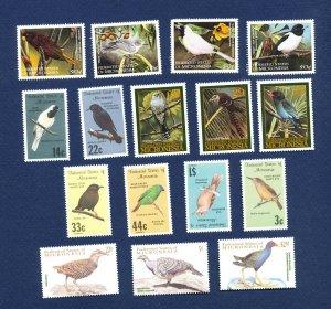 MICRONESIA -  - FVF MNH - BIRDS - 1985-2001