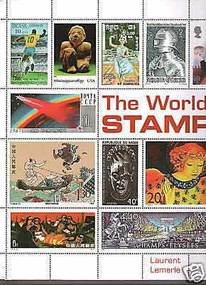 The World in Stamps, by Laurent Lemerle. New.