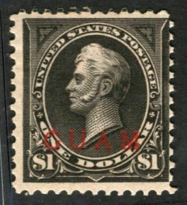 Guam #12 Mint Fine OG Hinged SCV $350 (LB 10/7)