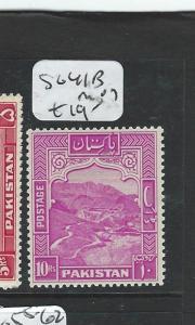 PAKISTAN (P0308B1) 10R KHYBER PASS  SG 41B   MOG