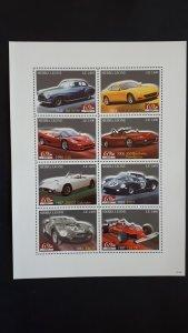 Cars - Ferrari - Ivory Coast 2007. - full sheet complete set ** MNH