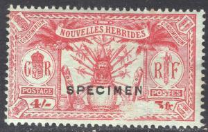 NEW HEBRIDES-FRENCH SCOTT 54