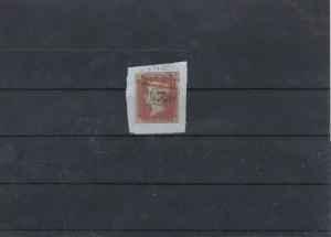 Imperf Penny Red Stamp Ref: R5625