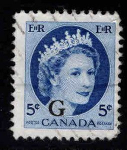Canada Used Scott o44 Used official stamp