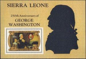 Sierra Leone  #560, Complete Set, Souvenir Sheet Only, 1982, Art, Never Hinged