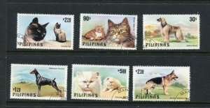 Phillipines #1425-30 Used