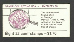 2198-2201 (BK153) Stamp Collecting Booklet Of 8 Mint/nh Selling @ Face