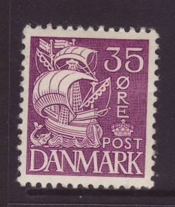 1940 Denmark 35 Ore Die II Mint
