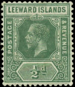 Leeward Islands Scott #47 Mint Hinged