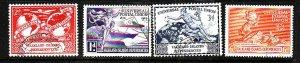 Falkland Island Dependencies.-Sc#1L14-17-used KGVI set-id3-UPU Issue-Omnibus-194