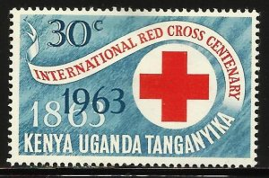 Kenya, Uganda & Tanzania 1963 Scott# 142 MH