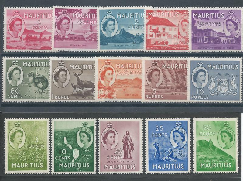 Mauritius 251-65 LH