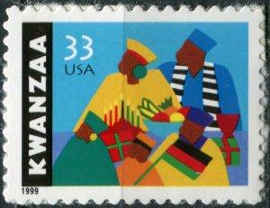 United States 1999. Kwanzaa. Type of 1997 (MNH OG) Stamp