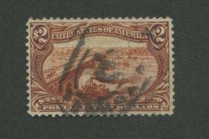 1898 United States Postage Stamp #293 Used VF Postal Cancel