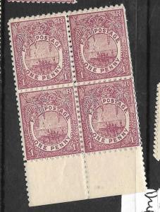 FIJI ISLANDS (PP1309B)  1D  SG101 BL OF 4  MNH