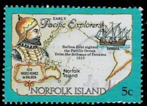 Norfolk Island 1969 Cook Bicentenary Used