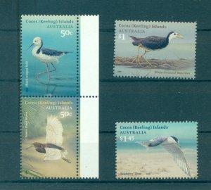 Cocos Is.  - 348-50. 2008 Birds. MNH. $16.00.
