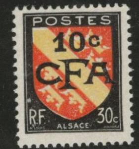 Reunion CFA Scott 268 MH* stamp