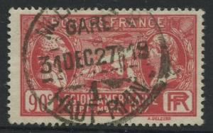 France - Scott 243 - General Issue -1927 - FU - Single 90c Stamp