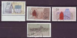 J1460 JLS stamps 1975 germany used #1196-9 set/4 $2.00v