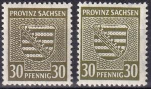 Germany MI#83Xa-83Xb MNH CV $55.00 Z758