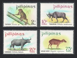 Philippines Wild Animals 4v SG#1088-1091