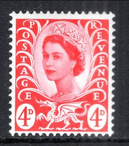 Great Britain Wales and Monmouthshire 10 MNH VF