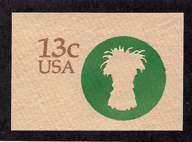 U573 Mint... Cut Square... SCV $0.35