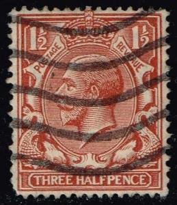 Great Britain #189 King George V; Used (1.10)