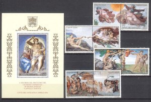 1994 - Vatican # 944-952  - Mint VF/NH