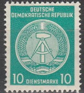 DDR #O38   MNH F-VF (SU3365)