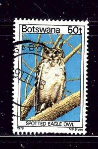 Botswana 211 Used 1978 Bird
