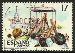 Spain 1986 Scott# 2477 Used