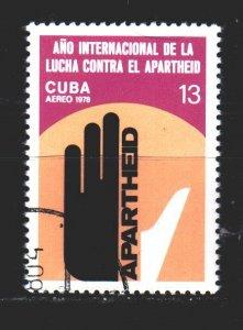 Cuba. 1978. 2346. antiapartheid. USED.