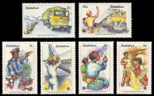 Zimbabwe 1983 Scott #464-469 Mint Never Hinged
