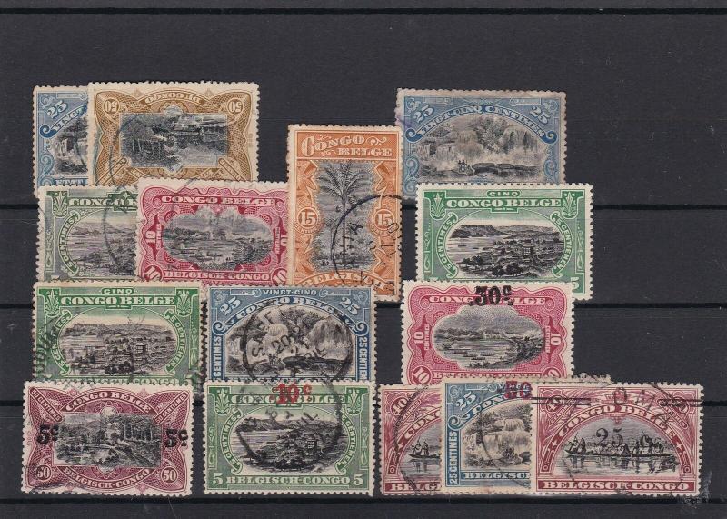 Belgian Congo Stamps ref R17372