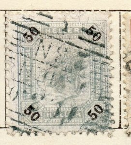 Austria 1899 Early Issue Fine Used 50h. NW-11519